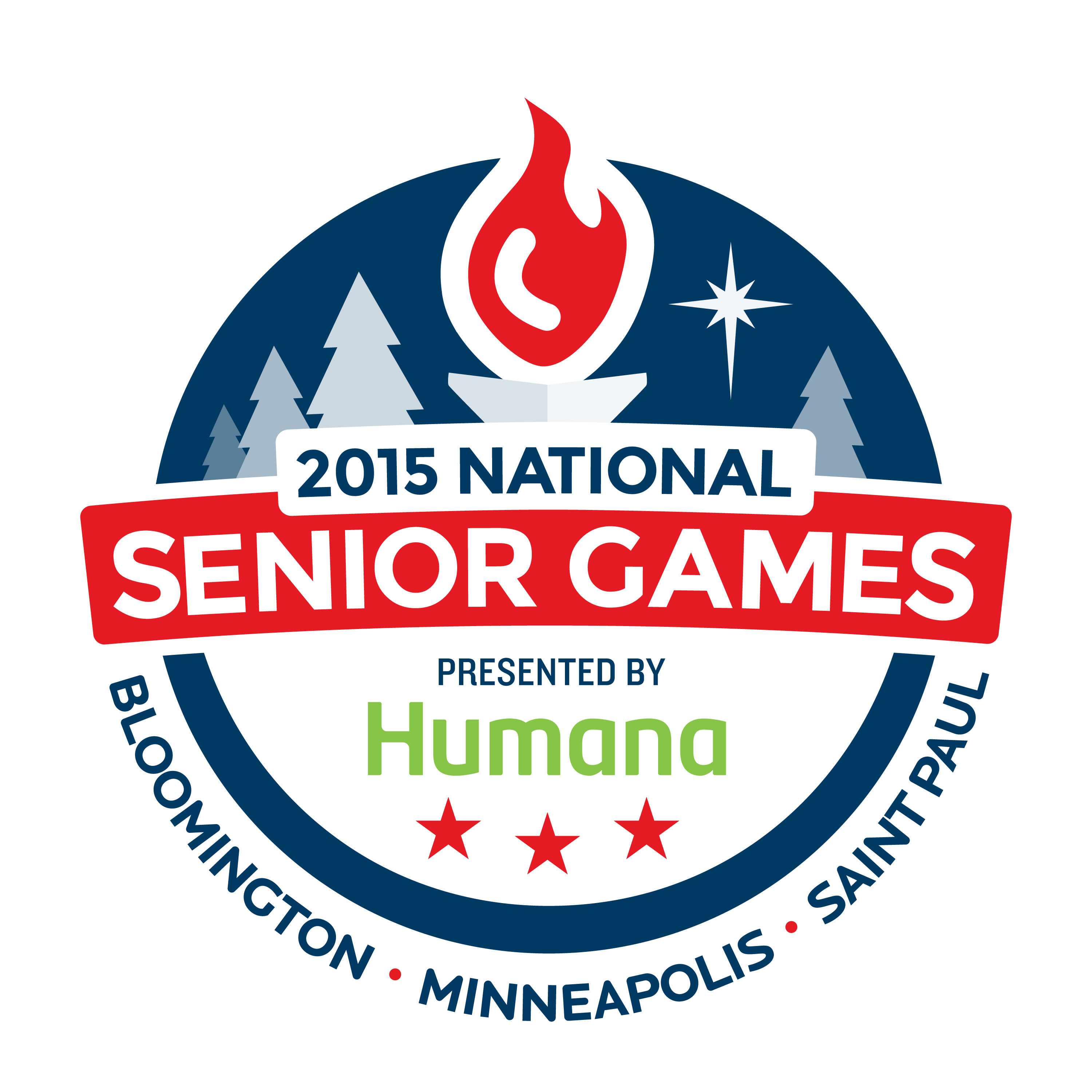 2015 National Senior Games Logo